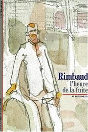 Cover of: Rimbaud | Alain Borer
