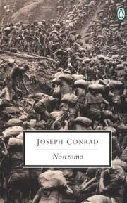 Cover of: Nostromo by Joseph Conrad