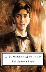 Cover of: The Razor's Edge by W. Somerset Maugham