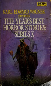 The Year's best horror stories, Series X