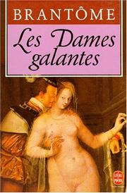 Cover of: Les dames galantes by Maurice Rat
