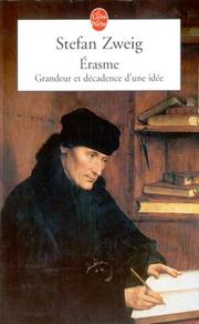 Cover of: Erasme by Stefan Zweig