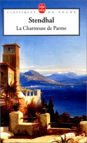 Cover of: La Chartreuse de Parme by Stendhal