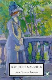 Cover of: In a German Pension by Katherine Mansfield