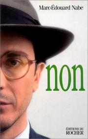 Cover of: Non | Marc-Edouard Nabe