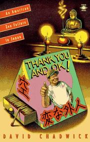 Cover of: Thank you and OK! by David Chadwick