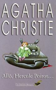 Cover of: Allo, Hercule Poirot by Agatha Christie