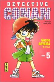 Cover of: Détective Conan, tome 5 by Gosho Aoyama