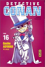 Cover of: Détective Conan, tome 16 by Gosho Aoyama