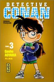 Cover of: Détective Conan, tome 3 | Gosho Aoyama
