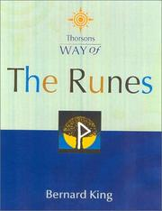 Cover of: Way of the Runes (Thorsons Way of) | Bernard King