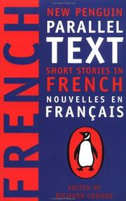 Cover of: Short stories in French |