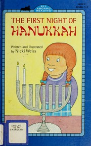 The first night of Hanukkah